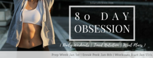 80 Day Obsession | Program Pack Options